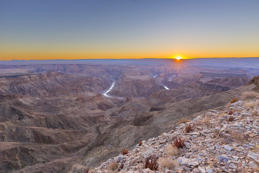 Fish River Canyon Sunset, Namibia
