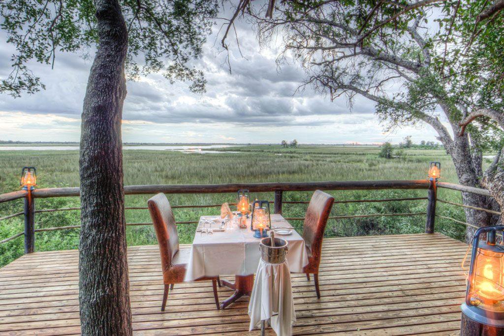 Honeymoon Table Set-up Botswana