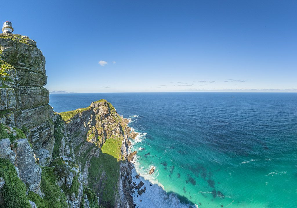 Cape Point is the most South Western Point of Africa.