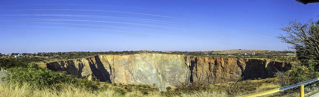 The hole at Cullinan diamond mine,