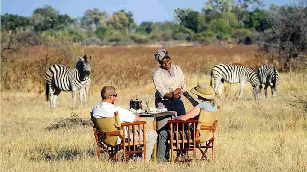 Honeymoon Safari Couple