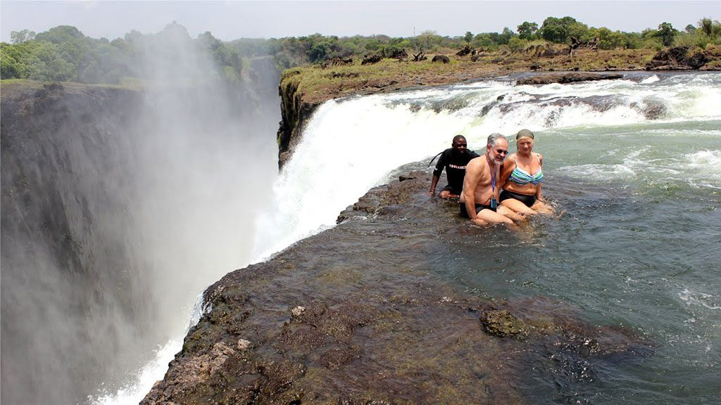 Devil Pool Victoria Falls