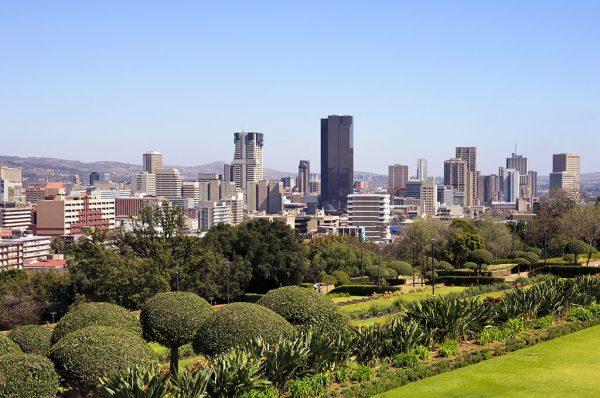 Pretoria CBD viewed from Union Buildings
